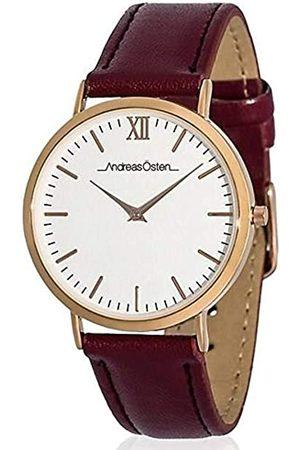 Andreas Osten Unisex Analog Quarz Uhr mit Stoff Armband AO-166
