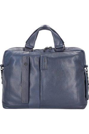 Piquadro Herren Laptop- & Aktentaschen - Pulse Plus Aktentasche Leder 39 Cm Laptopfach in , Businesstaschen für Herren