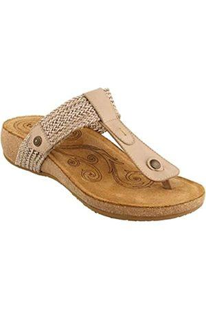 Taos Footwear Damen Pam Sandale, Beige (stone)