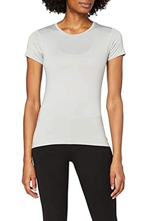 IRIS & LILLY Amazon-Marke: Damen T-Shirt mit rundem Ausschnitt, L