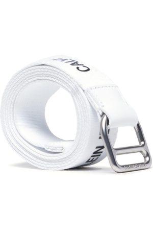 Calvin Klein Damen Gürtel - Slider Webbing Belt 30mm K60K608292 Bright White YAF