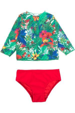 AMIR SLAMA Mädchen Tankinis - Bikini mit Print
