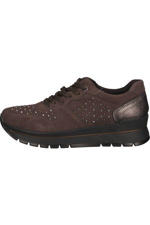 IMAC Sneaker in dunkelbraun, Sneaker für Damen