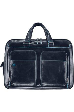 Piquadro Blue Square Aktentasche Leder 41 Cm Laptopfach in , Businesstaschen für Herren