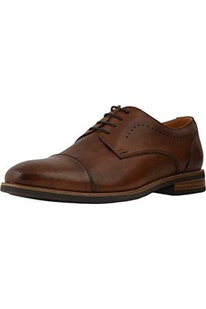 Florsheim Men's Uptown Cap Toe Oxford Cognac Leather/Suede 9.5 D US