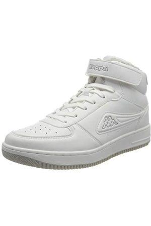Kappa Unisex-Erwachsene BASH MID FUR Sneaker, 1014 White/l'grey