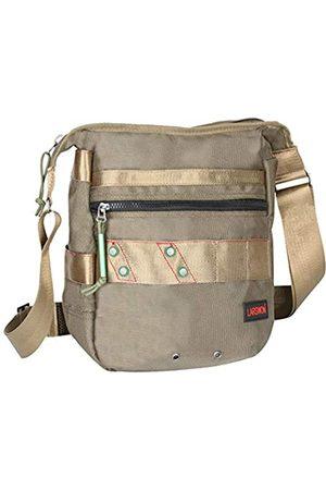 Larswon Umhängetasche Aktentasche Laptoptasche Kleiner 12 13 Zoll Messenger Bag Herrentasche Damentaschen Armeegrün