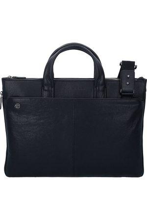 Piquadro Black Square Aktentasche Leder 42 Cm Laptopfach in , Businesstaschen für Herren