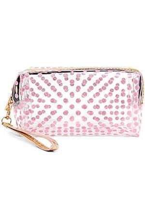 SM FASHION SM Kosmetiktasche für Frauen und Mädchen, klein, Make-up-Tasche, stilvoll, bedruckt, Reise-Organizer