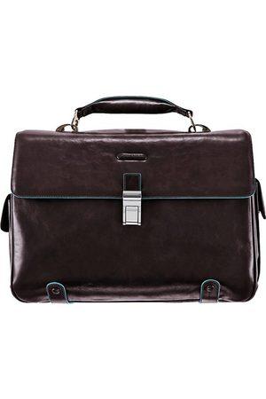 Piquadro Blue Square Aktentasche I Leder 44 Cm Laptopfach in mittelbraun, Businesstaschen für Herren
