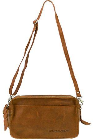 Cowboysbag Umhängetasche Leder 20 Cm in mittelbraun, Umhängetaschen für Damen