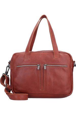 Cowboysbag Ormond Schultertasche Leder 32 Cm in mittelbraun, Schultertaschen für Damen