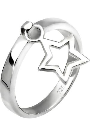 Elli Ring Stern Anhänger 925 Sterling Geschenkidee in , Schmuck für Damen
