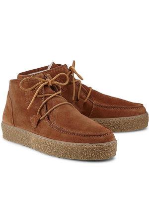 Ca'Shott Winter-Boots in mittelbraun, Stiefeletten für Damen