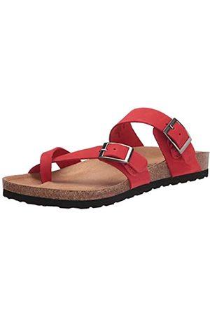 White Mountain Damen Gracie Flache Sandale, /Leder
