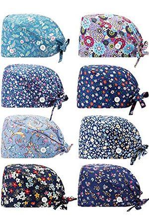 SATINIOR Hut in Kürbisform, mit Knöpfen, Schweißband, verstellbar, für Damen und Herren