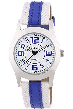 Just Watches Unisex-Armbanduhr Analog Quarz Kunstleder 48-S0007-BL