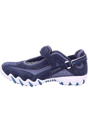 Allrounder Sneaker - Komfort Slipper in mittelblau, Slipper für Damen