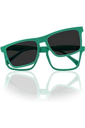 Foreyever Mädchen Sonnenbrillen - Unisex-Kinder Kids Clip On Sonnenbrille