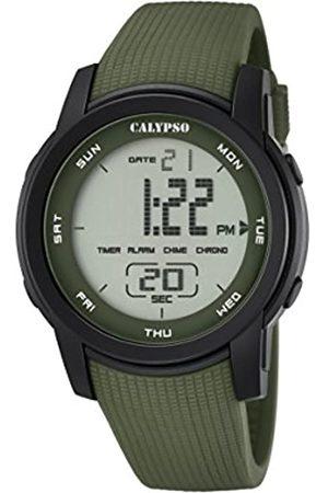 Calypso Unisex Digital Uhr mit Plastik Armband K5698/4
