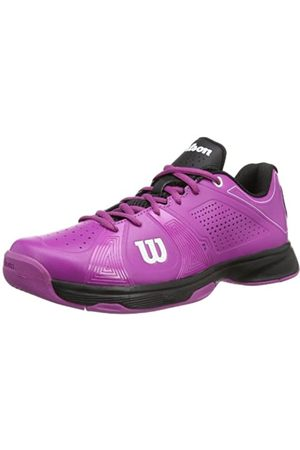 Wilson Damen Rush Sport W Fushia/B 7.5 Tennisschuhe, Mehrfarbig (New Fuchsia/New Fuchsia/Black)