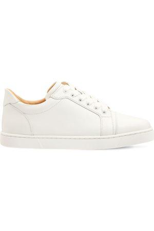 "CHRISTIAN LOUBOUTIN Damen Sneakers - 10mm Hohe Ledersneakers ""vieira"""