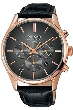 Lorus Pulsar Herren-Armbanduhr Chronograph Quarz Leder PT3782X1