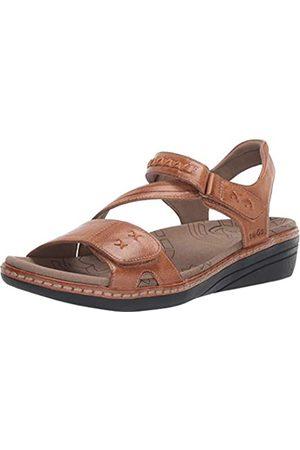 Taos Footwear Damen Zenith Sandalen, Beige (honig)