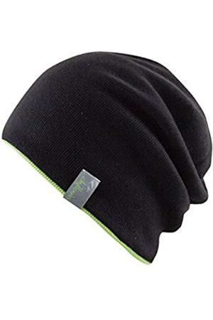 Chillouts Erwachsene Brooklyn Hat Longbeanie, 10 Black/Green