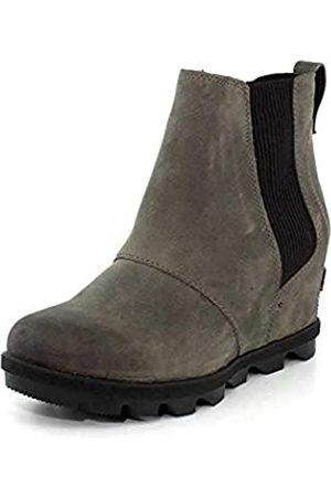 sorel Damen Chelsea-Boots Joan Of Arctic Wedge II, Braun (Quarry)
