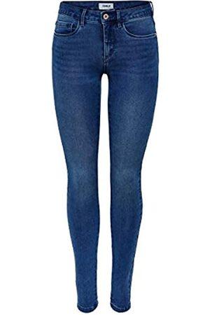 ONLY Female Skinny Fit Jeans ONLRoyal Regular L30Medium Blue Denim