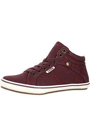 Taos Footwear Damen Top Star Canvas Sneaker, (Bordeaux Distressed)