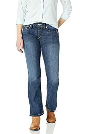 Ariat Damen R.E.A.L Mid Rise Bootcut Jeans