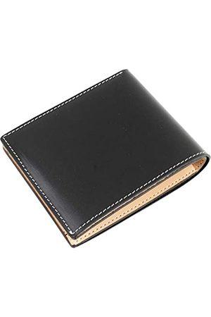 Dom Teporna Italy Geldbörse aus genarbtem italienischem Leder für Herren, ideal für die Gesäßtasche.
