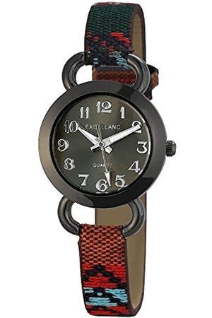 Excellanc Damen-Armbanduhr XS Analog Quarz Verschiedene Materialien 195071500167