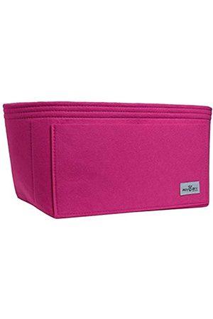 RoyGbiv Speedy Handtaschen-Organizer, Handtaschen-Former-Einsatz, passend für LV Speedy LV Neverfull LV Palermo und andere Tragetaschen., Pink (rose)