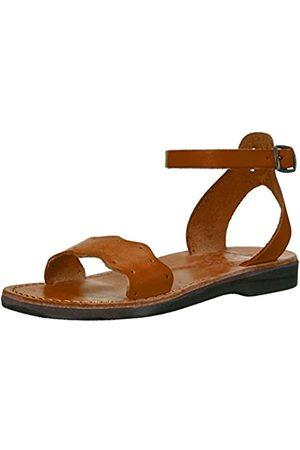 Jerusalem Sandals Damen Dinah Gladiator, (Honig)