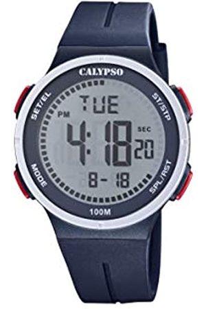 Calypso Unisex Digital Quarz Uhr mit Plastik Armband K5803/3