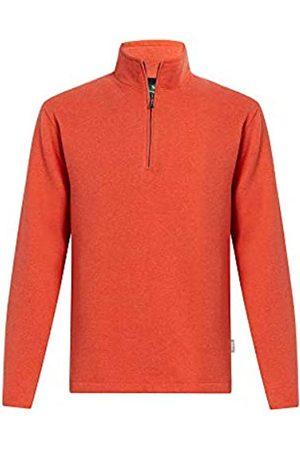 Woolrich Herren Boysen Half Zip Sweatshirt Ii - Orange - X-Groß