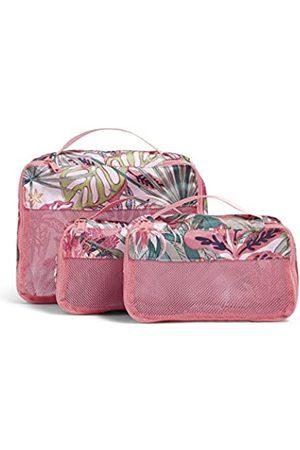 Vera Bradley Damen Accessoires - Damen Recycled Lighten Up Reactive Packing Cube Set Reisezubehör
