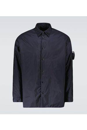 Prada Hemdjacke aus Re-Nylon