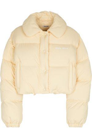 Miu Miu Cropped-Jacke aus Wolle