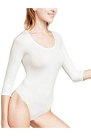 Falke Damen Body Stringbody - Baumwollmischung, 1 Stück, Elfenbein (Ivory 2179)