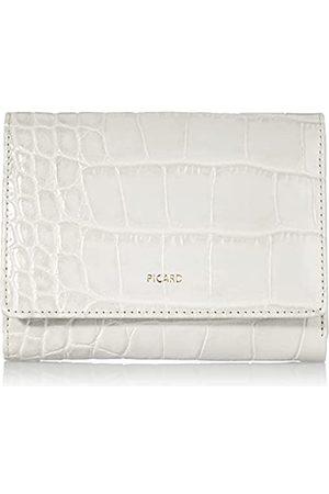 Picard Damen Taschen - Damen Portemonnaie, aus mit Krokoprägung aus Leder, in der Farbe Kiesel/ , aus der Serie Weimar 1