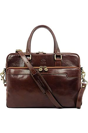 Time Resistance Leder Laptoptasche Herren Arbeitstasche Ledertasche Aktentasche Lehrertasche Notebooktasche Businesstasche
