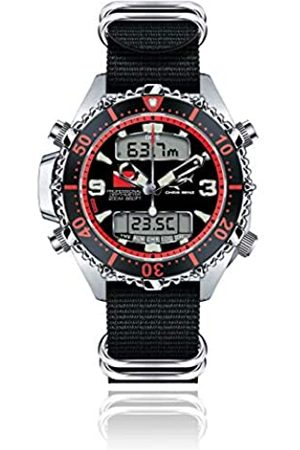 Chris Benz Herren Uhren - Taucheruhr CB-D200X-R-NBS