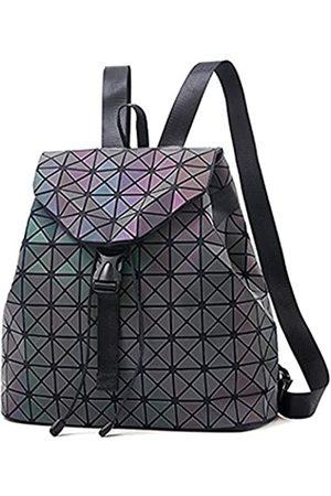 nevenka Geometrische Lingge Luminous Damen Rucksack Flash Bunte Kordelzugtaschen