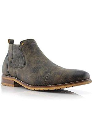 Ferro Aldo MFA606325 Slip On Ankle Men's Casual Chukka Boots Grey 8.5