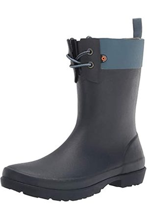 Bogs Damen Flora 2 Eye Boot Regenschuh, Blau (Denim)