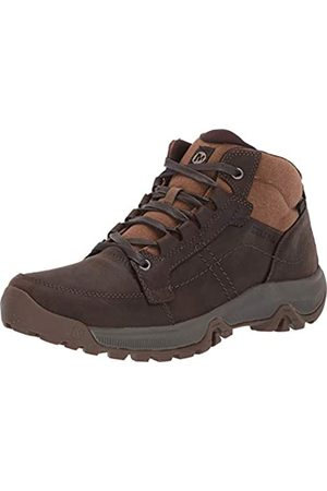 Merrell Herren Anvik Pace Mid Waterproof Chukka Boots, (Seal Brown)